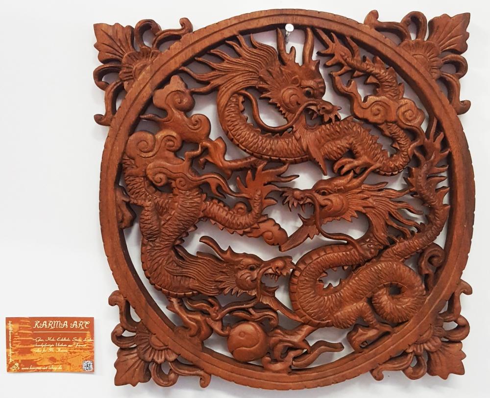 Wandschmuck - Drachenbild, ca. 30cm
