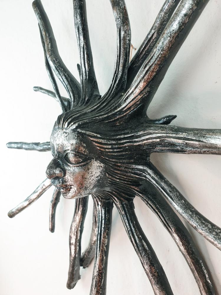 Baumwurzel mit  Kopf, 40cm