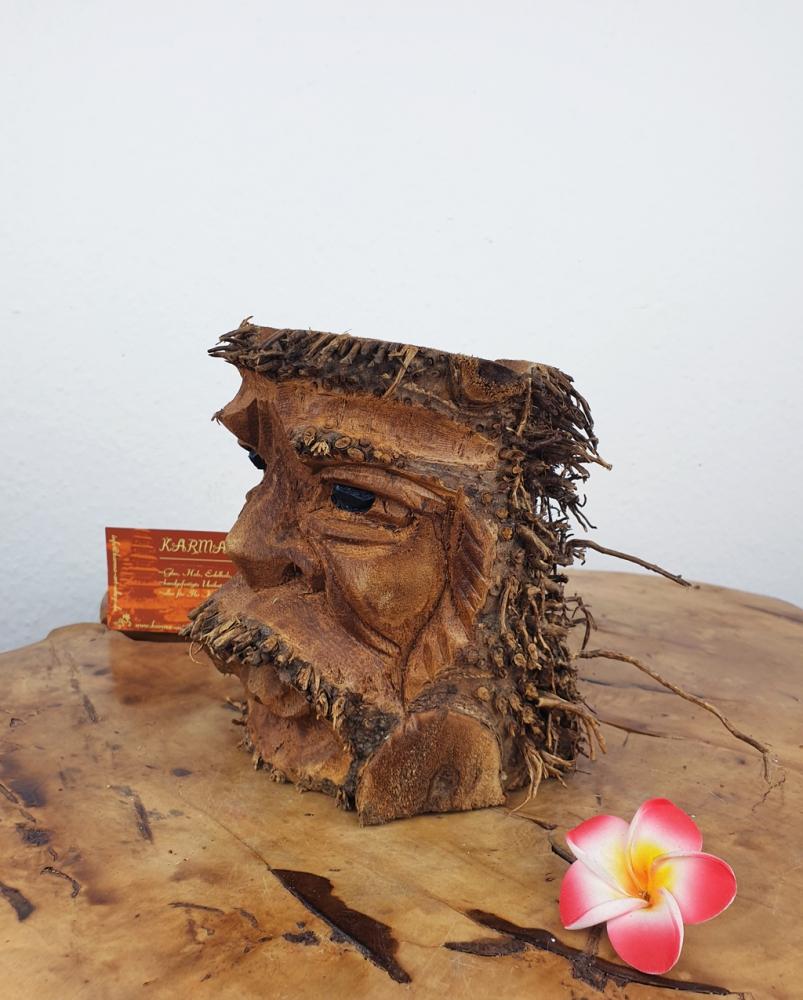 Bambus Kerzenhalter, Blumentopf ca. 15cm