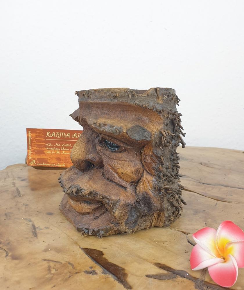 Bambus Kerzenhalter,Blumentopf ca. 10cm